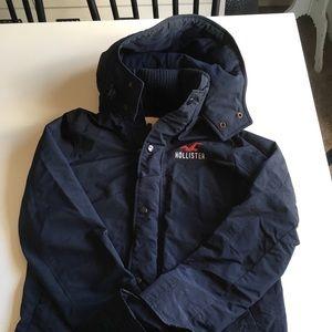 Boys Medium Hollister Coat